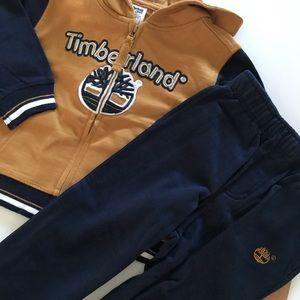 Timberland Matching Sets - NWT Boys Timberland 24 months Hoodie Pants Set NEW